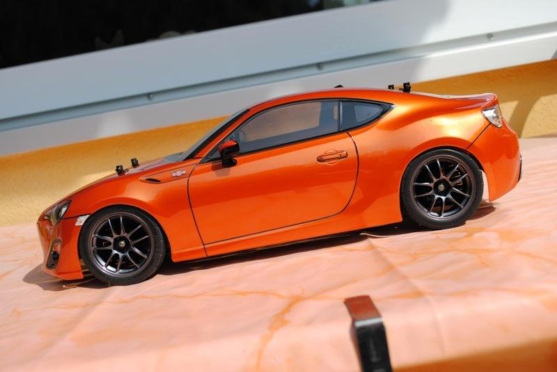 Kayhobbis - Onlineshop for RC Cars - Drift - Crawler - Tamiya Spray PS-61  Metallic Orange