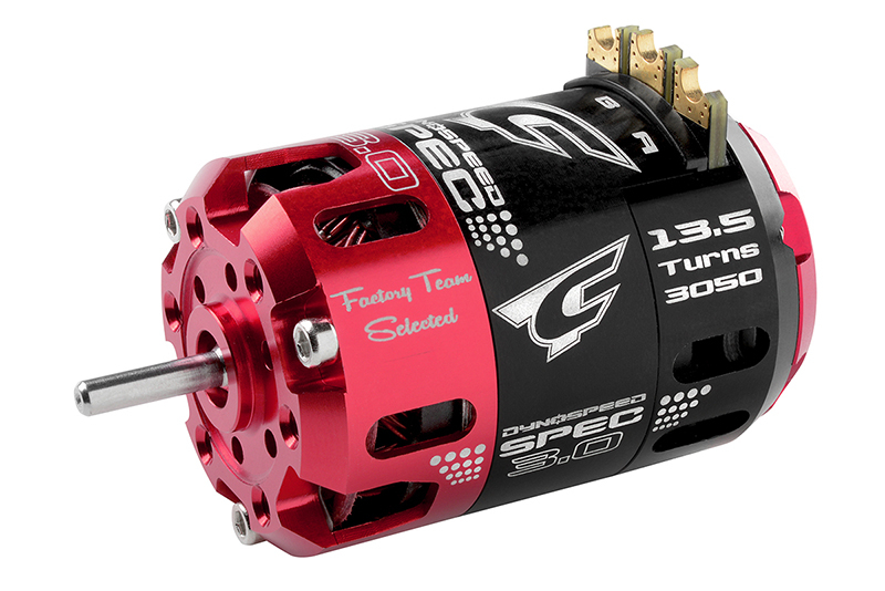 Team Corally - Dynospeed SPEC 3.0 - 1/10 Sensored Competition Brushless Motor - Stock - 13.5 Turns - 3050 KV