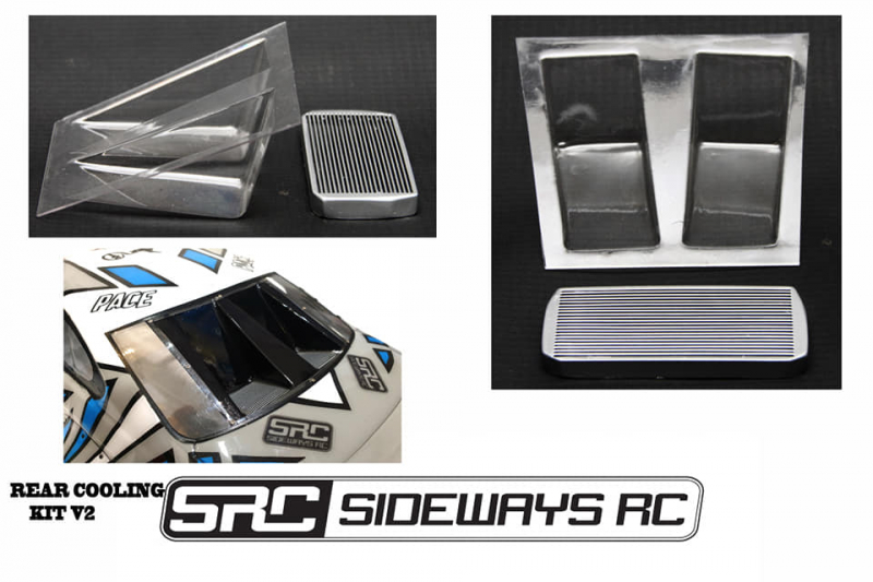 Sideways RC Rear Cooling Kit V2