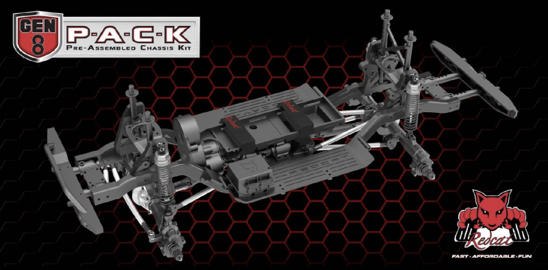 Redcat Gen8 P-A-C-K (Pre-Assembled Chassis Kit)