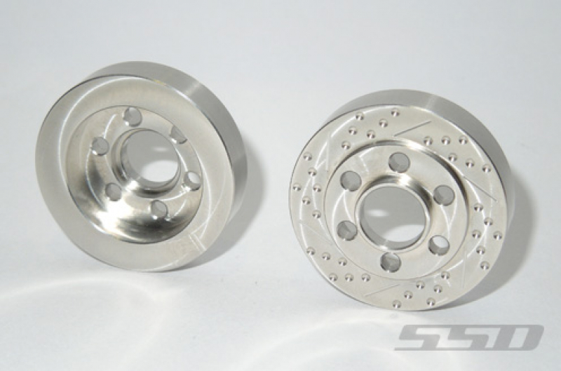 SSD Steel Brake Rotor Weights for SSD Wheels  (2)