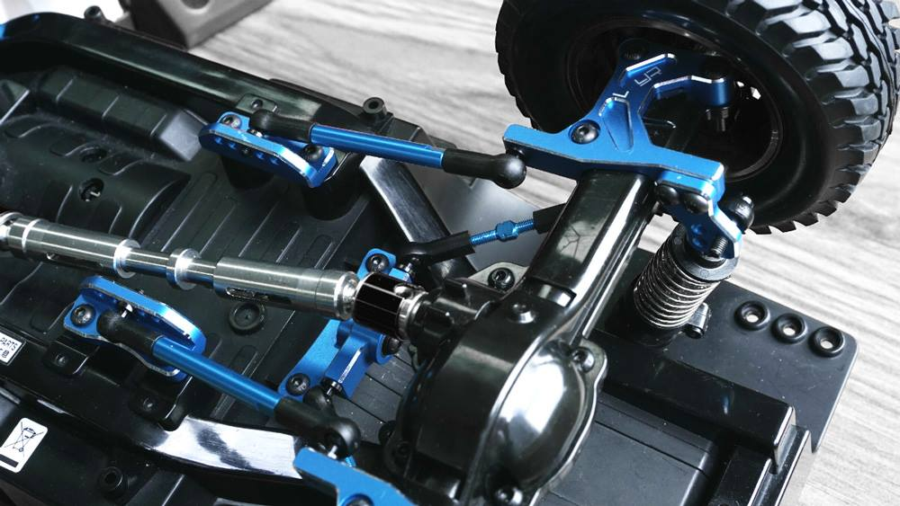 Yeah Racing 20kg Waterproof Super Torque Digital Servo Blue 1//10 Crawler Buggy