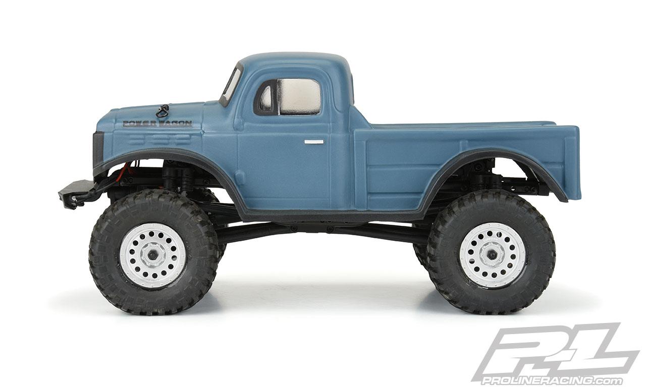 Kayhobbis Onlineshop For Rc Cars Drift Crawler Proline 1946 Dodge Power Wagon Clear Body For Scx24 Jlu