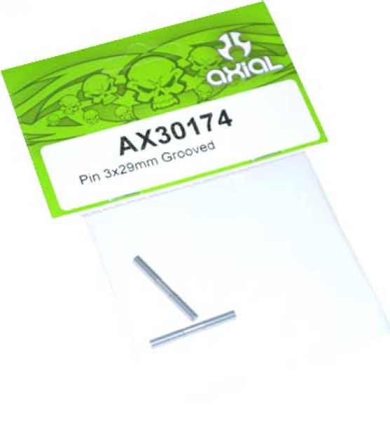 Axial EXO Pin 3x29mm Grooved AX30174